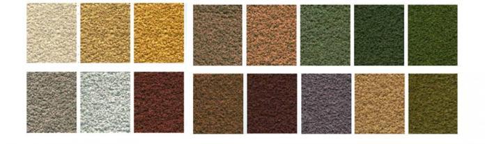 gama corcho extremadura colores