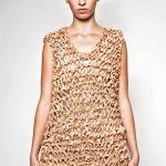 #vestido #moda #corcho #cork