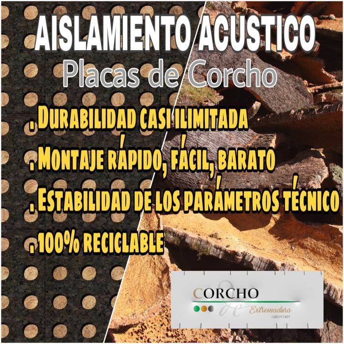 #aislamiento #acustico #corcho