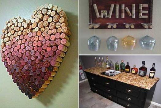 #decoracion corcho #vino #feliz martes 1