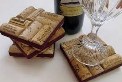 #decoracion corcho #vino #feliz martes 2