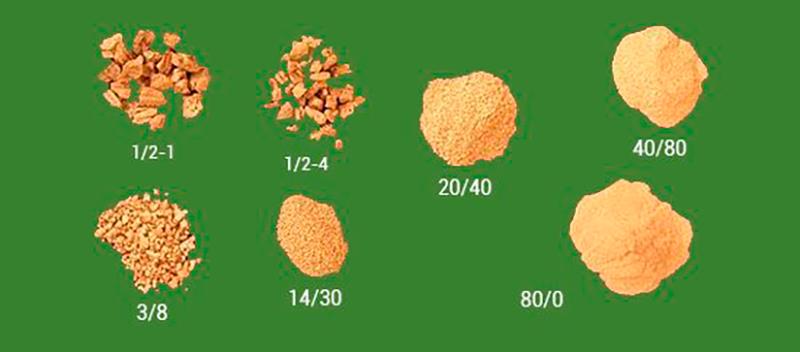 granulado de corcho