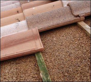 Planchas de corcho para construcción