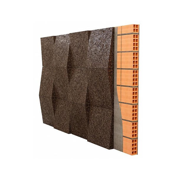 The solution with cork for dampness, water and leaks